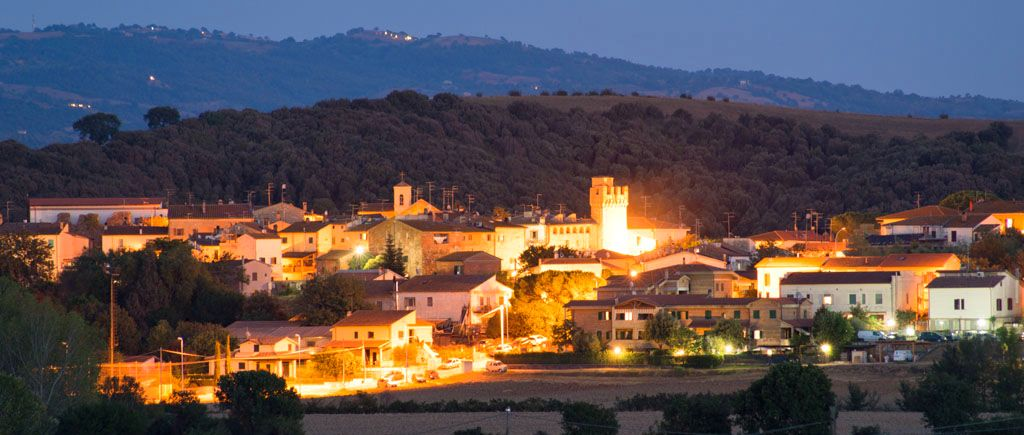 istia d'ombrone by night