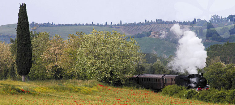 Tuscan Maremma by steam train