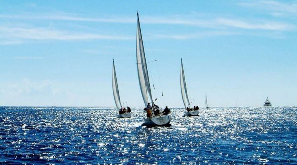 Weekend in barca a vela!